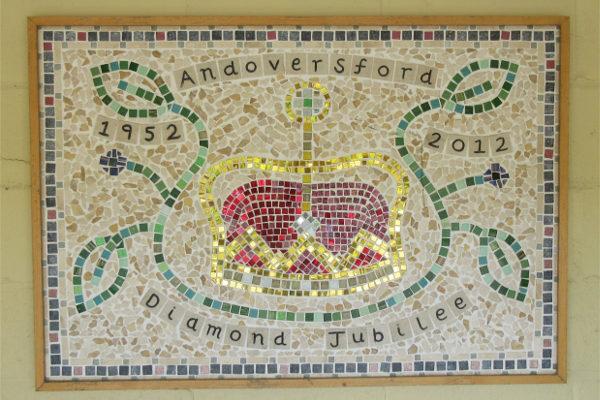 Andoversford Station Road Mosaic