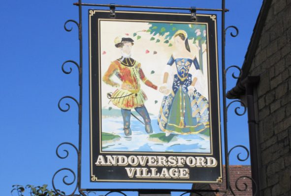 Andoversford Village Sign
