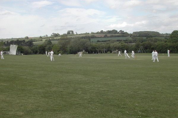 Cricket In Andoversford Village